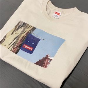 Supreme Banner Tee Shirt (Natural Colorway)